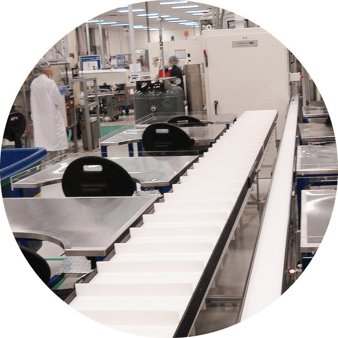 Worker-Friendly Assembly Automation with Mini-Mover Conveyors