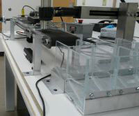 Inspection Station using Tabletop LP Series Mini-Mover Conveyor
